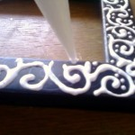 DIY Embossed Picture Frame