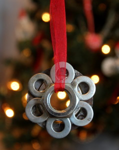 Nut and Washer Ornament