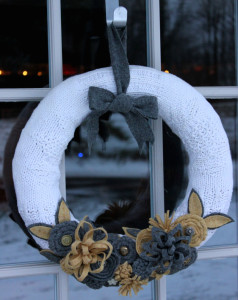 Sweater Wreath
