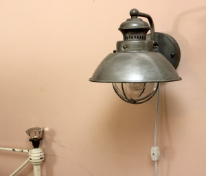 Industrial Bed Sconce