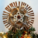 Wire Grinder and Washer Tree Topper