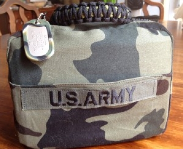 Boys Army Scripture Bag