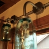DIY Industrial Mason Jar Light