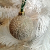 German Glitter Glass Ornament