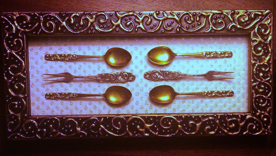 Framed Cocktail Silverware