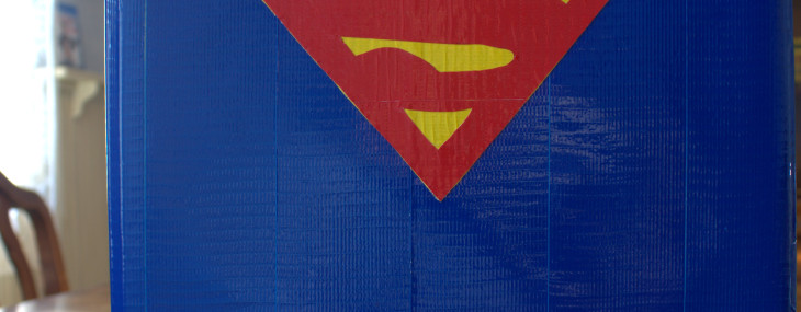 Duck Tape® Superman Notebook