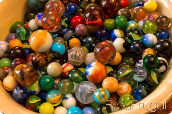 Vintage Gl Marbles