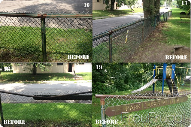 Fence Before - Eagle Project