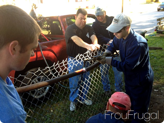 Fixing the Fence - Eagle Project with Ernie Mosier