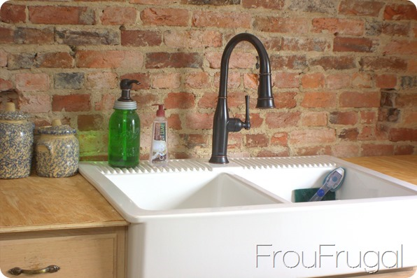 Kitchen - Ikea farm sink