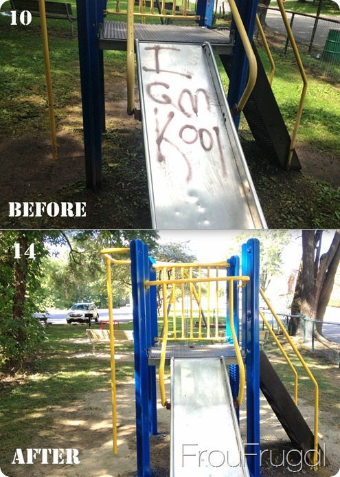 Slide Before and After - Eagle Project