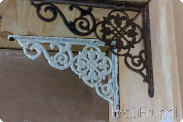 Vintage Shelf Brackets