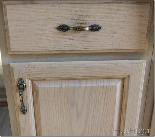 1980s Brass Kitchen Drawer and Cupboard Pulls