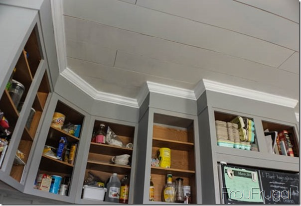 Kitchen Progress - Ceiling Cabinet Area