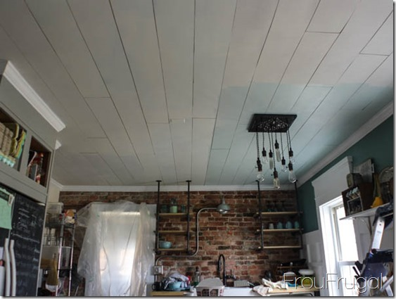Kitchen Progress - Ceiling