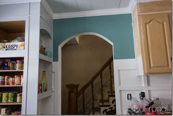 Kitchen Update - Arched Wall