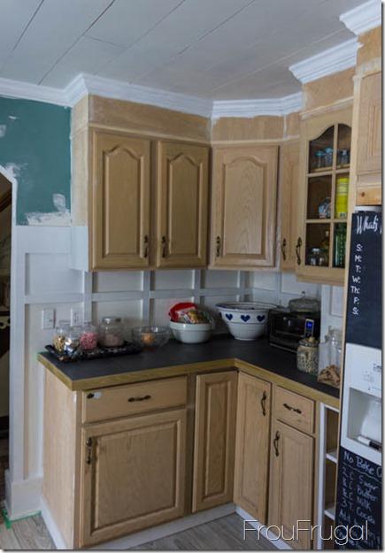 Kitchen Update - Cabinet Area