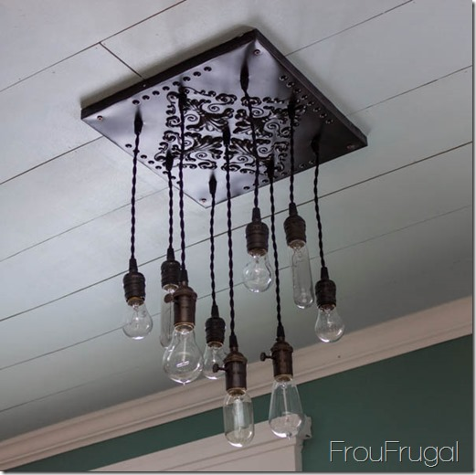 How to make a bare edison bulb chandelier aloadofball Images