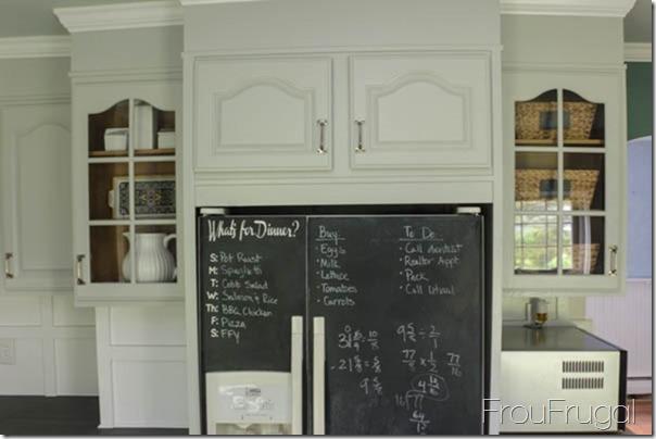 Kitchen Remodel - After - Fridge Surround