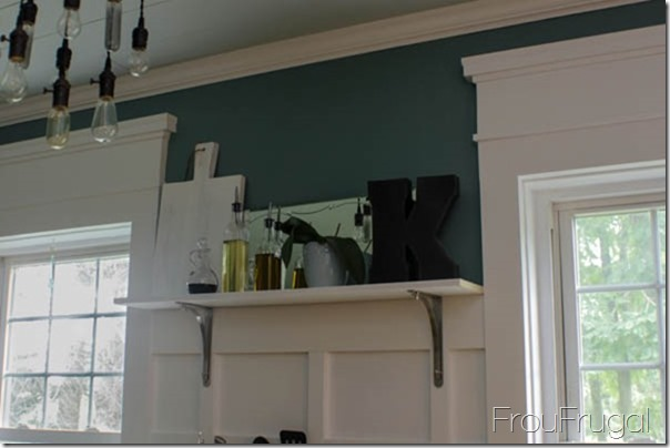 Kitchen Remodel - After - Open Shelf