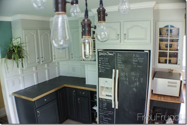 Kitchen Remodel - After - Refrigerator Wall
