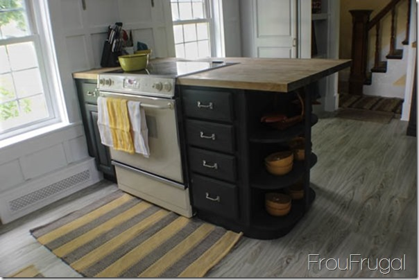 Kitchen Remodel - After - Stove Peninsula