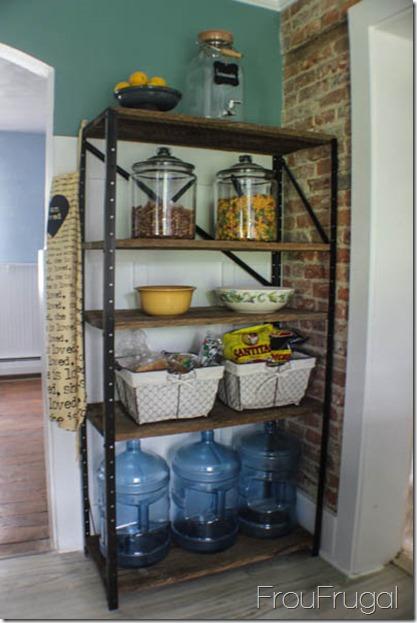 Repurposed Barn Wood Shelves