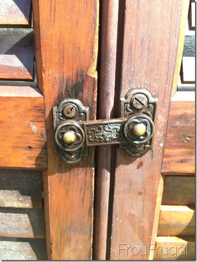 Ornate Shutter Latch