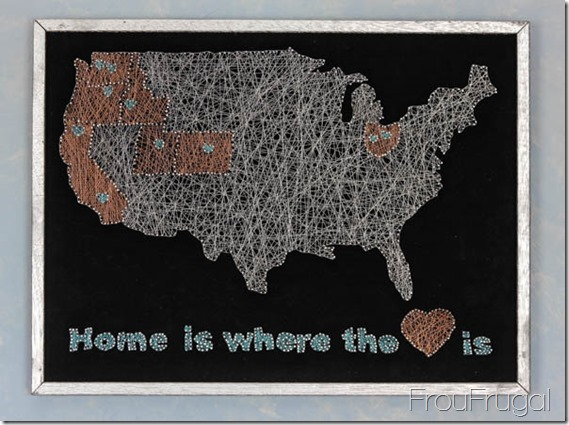 String Art Map
