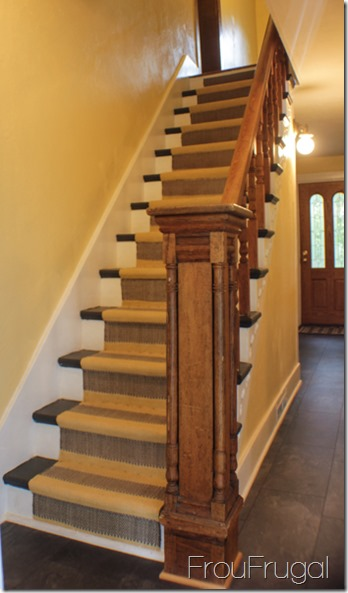 Entryway Stairs - After